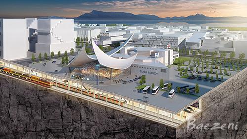 Bodø, Terminal underground • (2015)