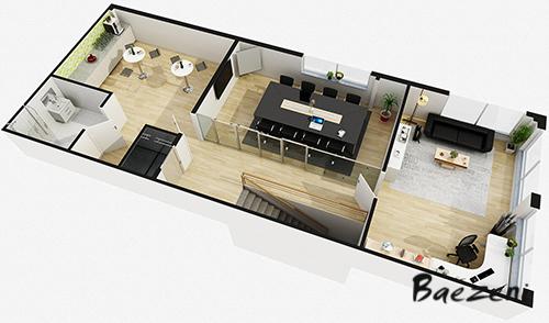Office  floorplan • (2016)