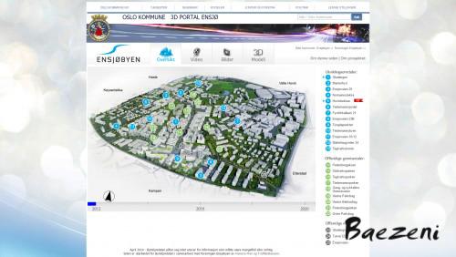 Ensjø - City web portal • (2012)